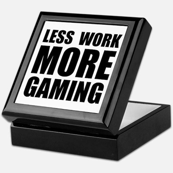 More Gaming Keepsake Box