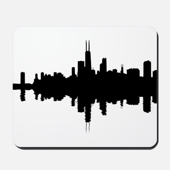 Reflections of Chicago Mousepad