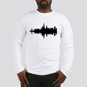 Reflections of Chicago Long Sleeve T-Shirt