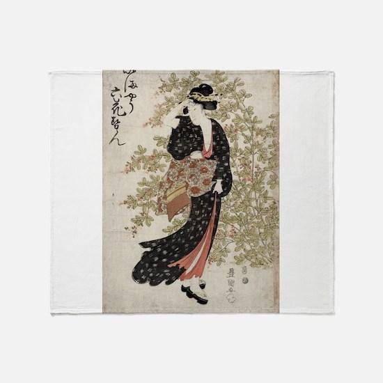 Bushclover - Toyokuni Utagawa - 1809 - woodcut Thr