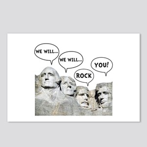 Rushmore Rock You Postcards (Package of 8)
