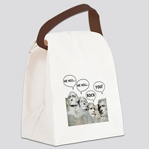 Rushmore Rock You Canvas Lunch Bag