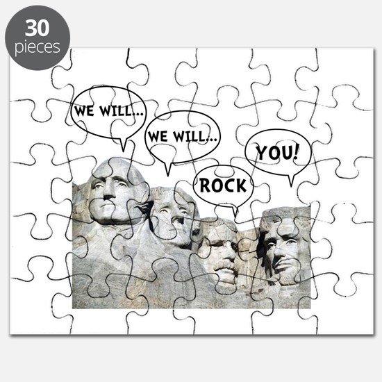 Rushmore Rock You Puzzle