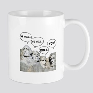 Rushmore Rock You Mug