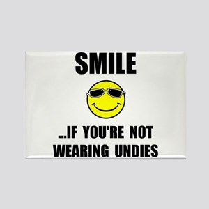 Smile Undies Rectangle Magnet (10 pack)