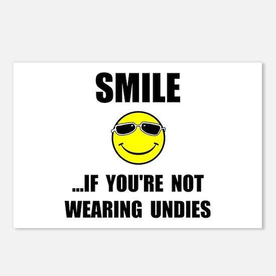 Smile Undies Postcards (Package of 8)