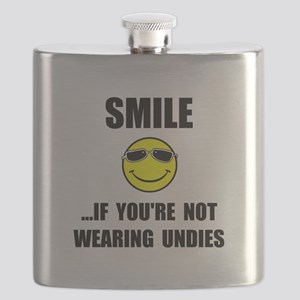 Smile Undies Flask