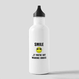 Smile Undies Water Bottle