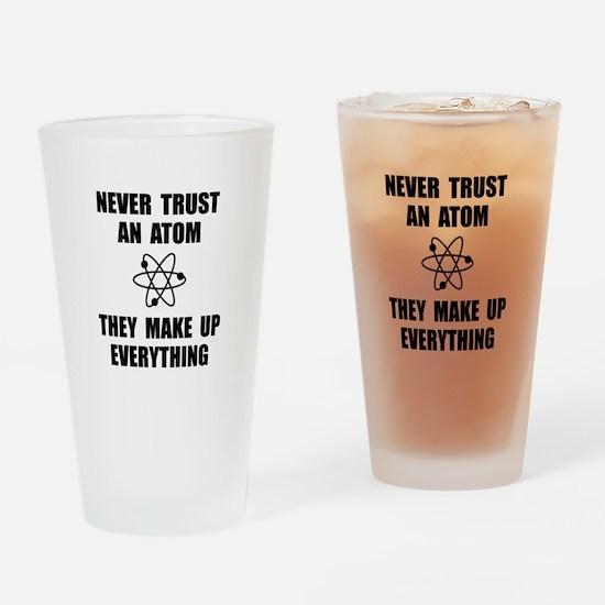 Trust Atom Drinking Glass
