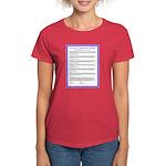 Le Pacte--Français Women's Dark T-Shirt