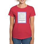 El Pacto--Español Women's Dark T-Shirt