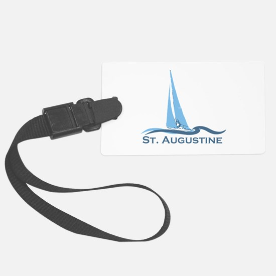 St. Augustine - Sailing Design. Luggage Tag