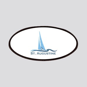 St. Augustine - Sailing Design. Patches