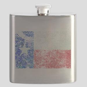 Vintage Texas Flag Flask