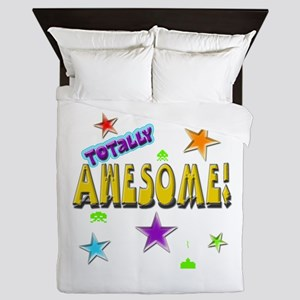 Totally Awesome! Queen Duvet