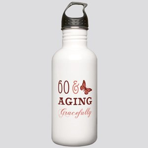 60 & Aging Gracefully Stainless Water Bottle 1.0L