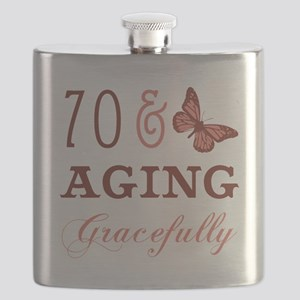 70 & Aging Gracefully Flask