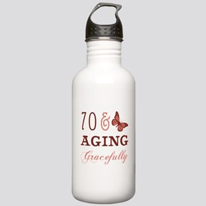 70 & Aging Gracefully Stainless Water Bottle 1.0L