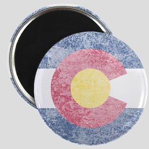 Vintage Colorado Flag Magnet