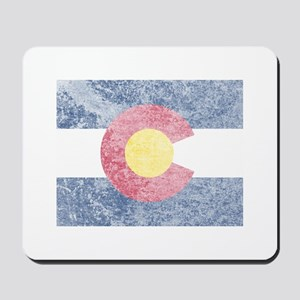 Vintage Colorado Flag Mousepad