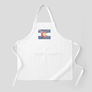 Vintage Colorado Flag Apron