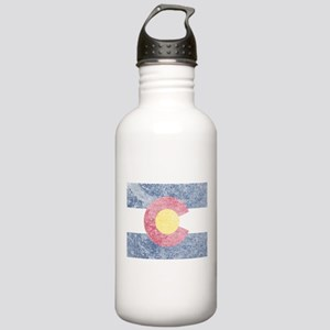 Vintage Colorado Flag Stainless Water Bottle 1.0L