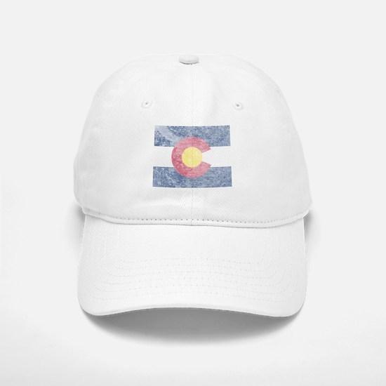 Vintage Colorado Flag Baseball Baseball Cap
