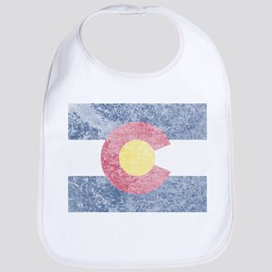 Vintage Colorado Flag Bib