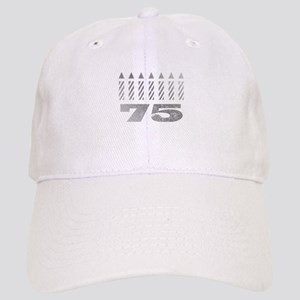 75th Birthday Candles Cap