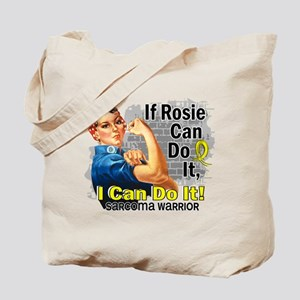 If Rosie Can Do It Sarcoma Tote Bag