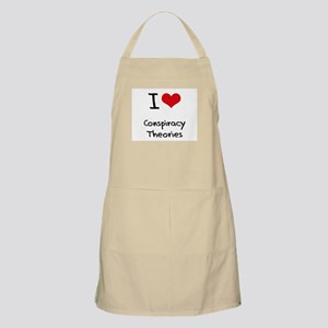 I love Conspiracy Theories Apron