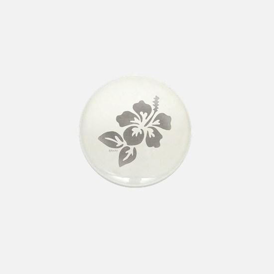 Hawaiian Flower Mini Button