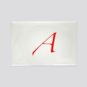A is for Atheist Rectangle Magnet