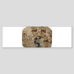 Dance - Toyokuni Utagawa - c1815 - woodcut Sticker
