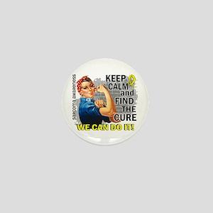 Rosie Keep Calm Sarcoma Mini Button