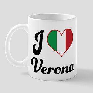 Italy I Heart Verona Mug