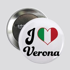 "Italy I Heart Verona 2.25"" Button"