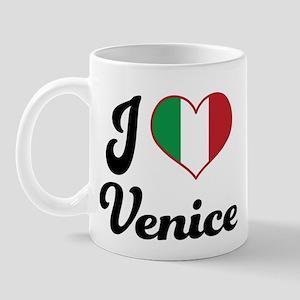Italy I Heart Venice Mug