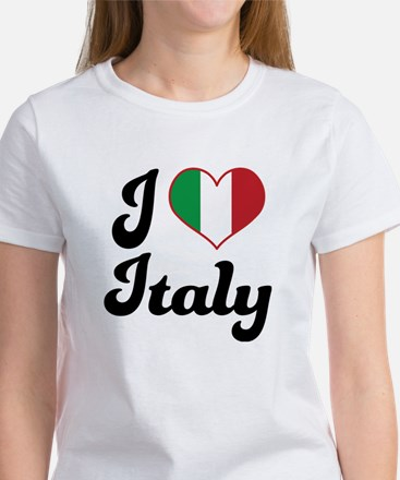 Italian Flag Italy Women's T-Shirt