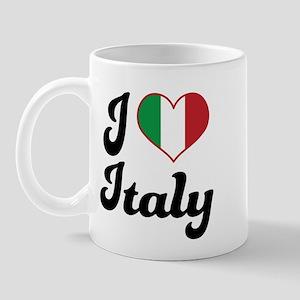 Italian Flag Italy Mug