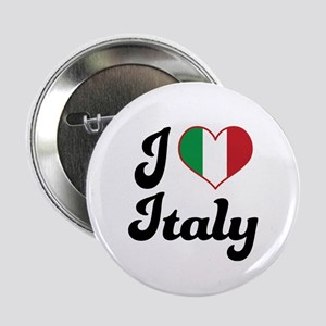 "Italian Flag Italy 2.25"" Button"