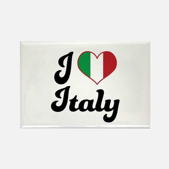 Italian Flag Italy Rectangle Magnet