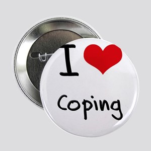 """I love Coping 2.25"""" Button"""