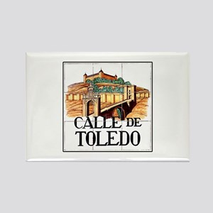 Calle de Toledo, Madrid - Spain Rectangle Magnet