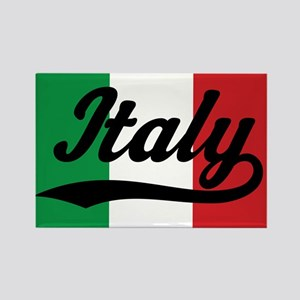 Italy Italian Flag Rectangle Magnet