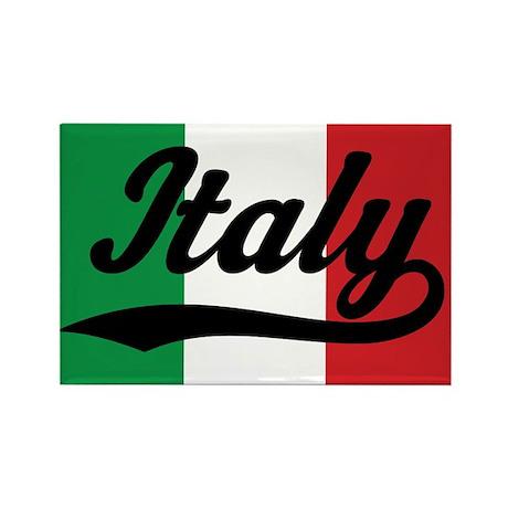 italy italian flag rectangle mag  by hometowninternational