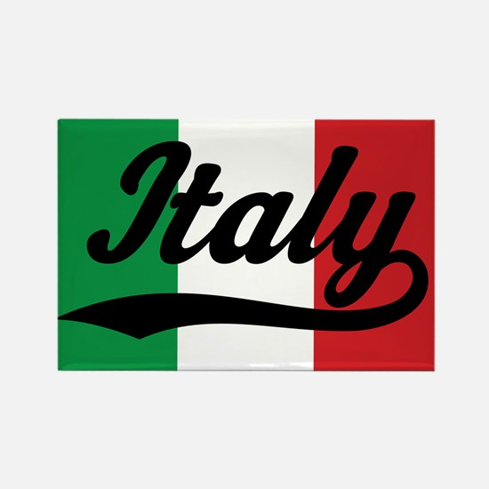 Italy Italian Flag Rectangle Magnet (10 pack)