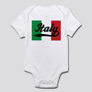 Italy Italian Flag Infant Bodysuit