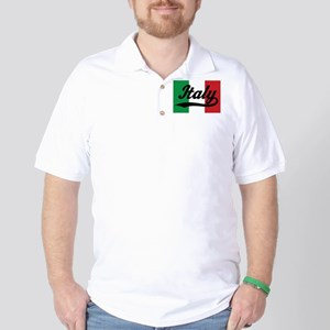 Italy Italian Flag Golf Shirt