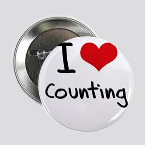 """I love Counting 2.25"""" Button"""